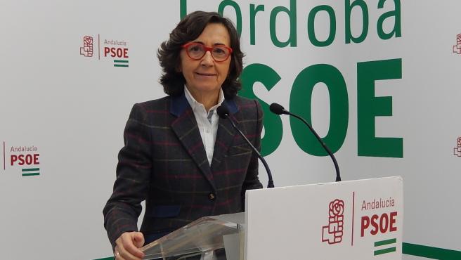 La parlamentaria andaluza del PSOE por Córdoba Rosa Aguilar.