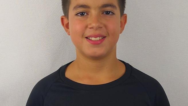 El pequeño Marc Andrei, fallecido por un derrame cerebral.