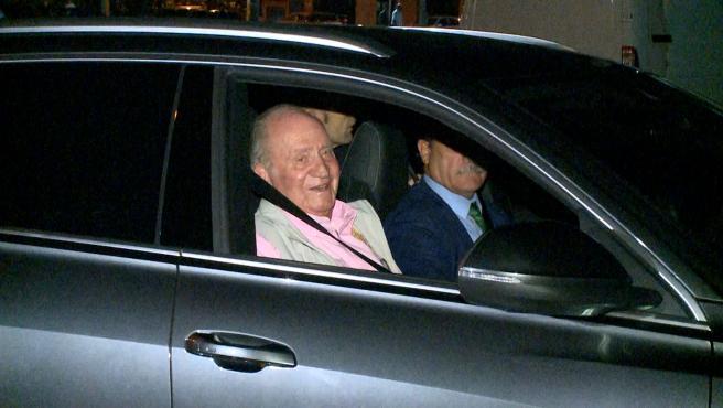Don Juan Carlos recibió al menos 30.000 euros de su asignación de 2020