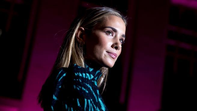 La 'influencer' María Pombo en la Pasarela Cibeles Fashion Week.