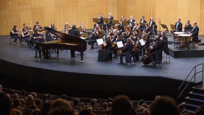 Actuación de la London Philharmonic Orchestra. FIS 2019