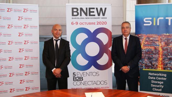 David Garriga y Pere Navarro
