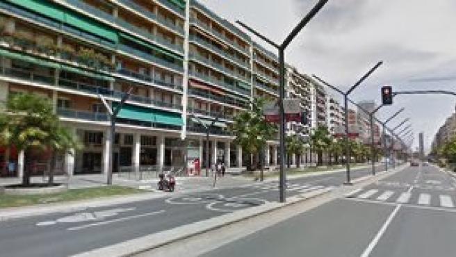 Gran Vía de Logroño, libre de vehículos