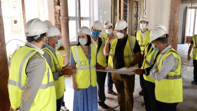 Nota, Audio Y Fotos Visita Obras Palacio De Pombo