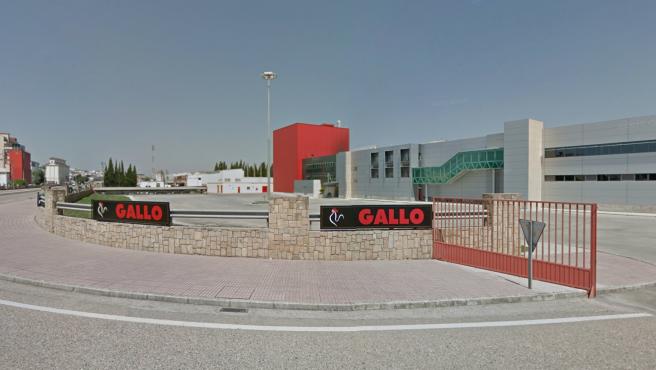 Sede de Pastas Gallo en El Carpio (Córdoba).