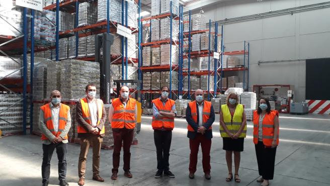 Comienza el reparto de los más de 248.000 kilos de alimentos que el Gobierno ha enviado a Navarra