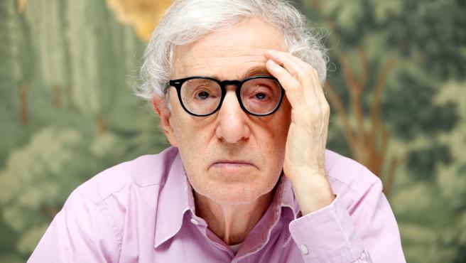 El director de cine neoyorquino Woody Allen.