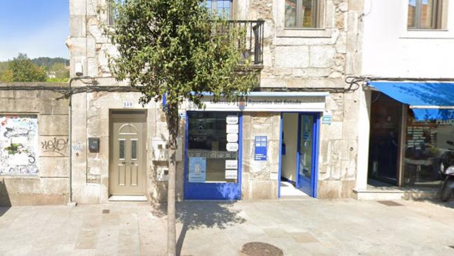 Administración de Loterías situada en Ramón Nieto, 359, en Vigo (Pontevedra).