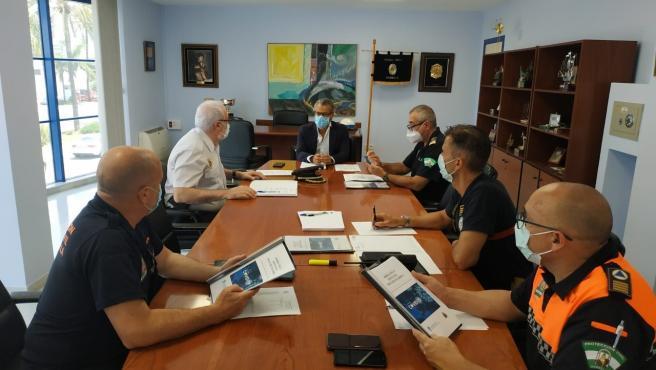 Comisión de Coordinación de Seguridad por Covid-19 de Marbella (Málaga)