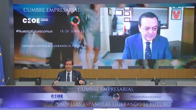 José María Albarracín, presidente de CROEM, reivindica el papel de los empresarios y la importancia del diálogo social en la cumbre de la CEOE