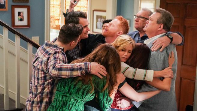 Una escena del episodio final de 'Modern Family'.