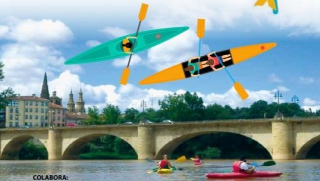 Rafting Rioja Aventura organiza una jornada de kayak a favor de FARO Rioja