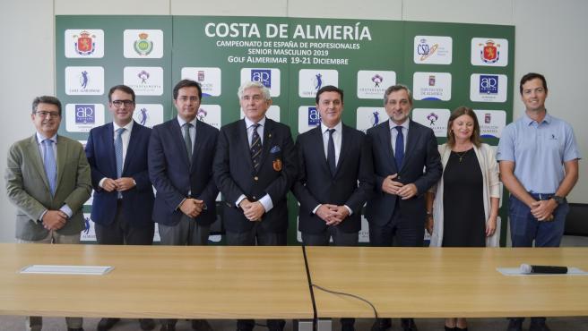 SaboresAlmería.-Un total de 85 golfistas senior participarán el campeonato nacional 'Costa de Almería' en Almerimar
