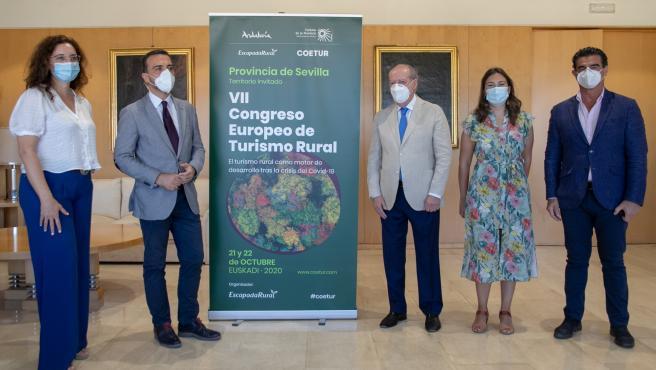 [Sevilla] Np: La Provincia De Sevilla Participa Como 'Territorio Invitado' En El Vii Congreso Europeo De Turismo Rural 'En Un Momento Clave Para El Sector'