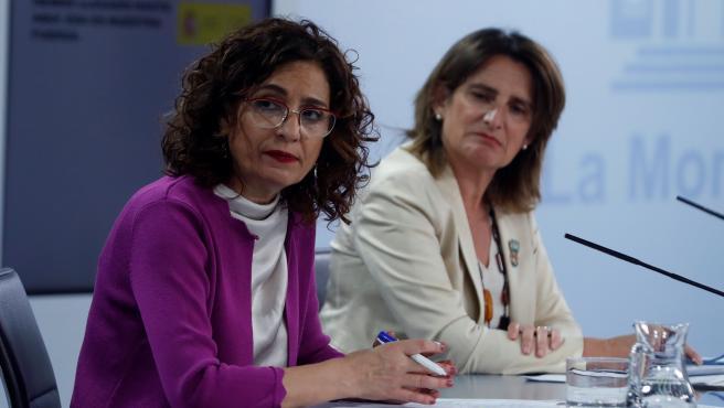 Teresa Ribera y María Jesús Montero