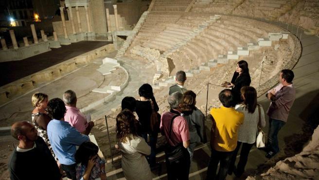 Visita nocturna al Teatro Romano