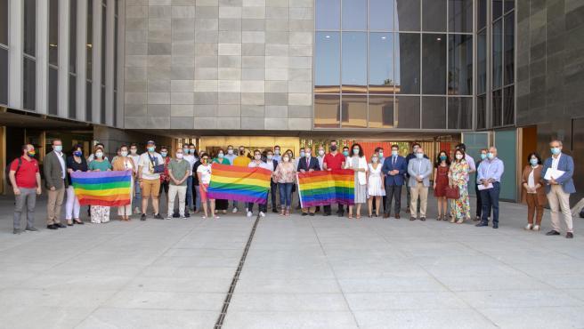 Conmemoración Dia del Orgullo en la Diputación de Sevilla