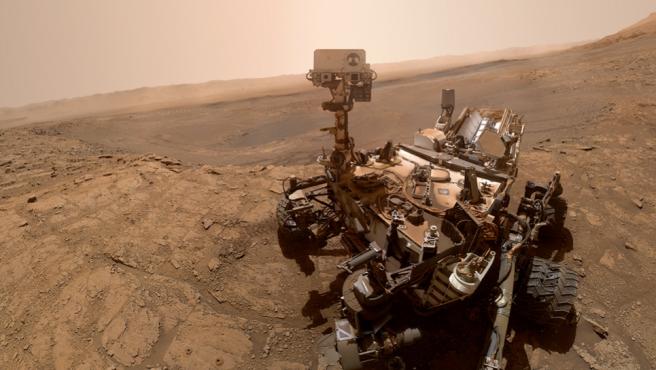 El Curiosity ha estado recorriendo Marte desde 2012.