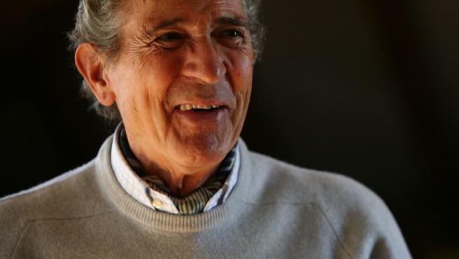 El poeta y escritor Antonio Gala