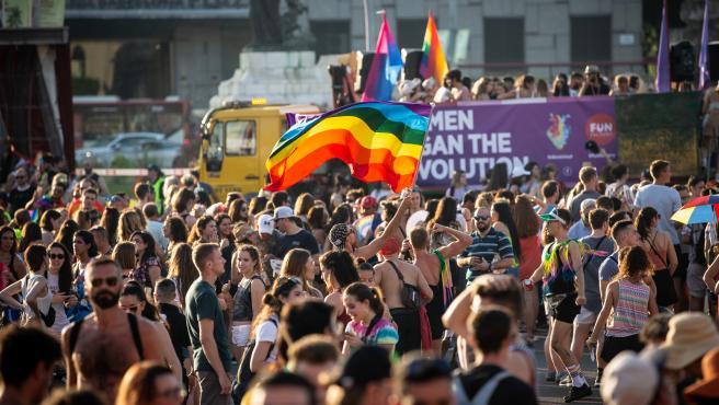 Manifestación Pride! Barcelona con motivo del Orgullo LGTBI del pasado 2019