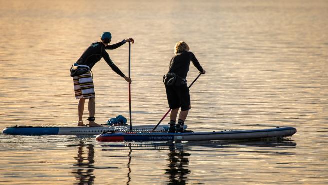 El pádel surf ayuda a mejorar el conocimiento del propio cuerpo.