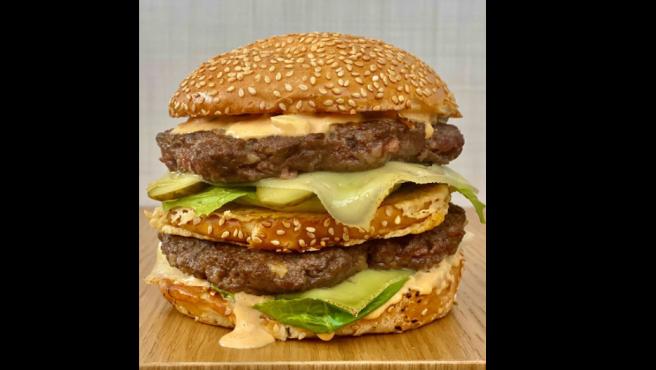 Versión del Big Mac de Dani García.