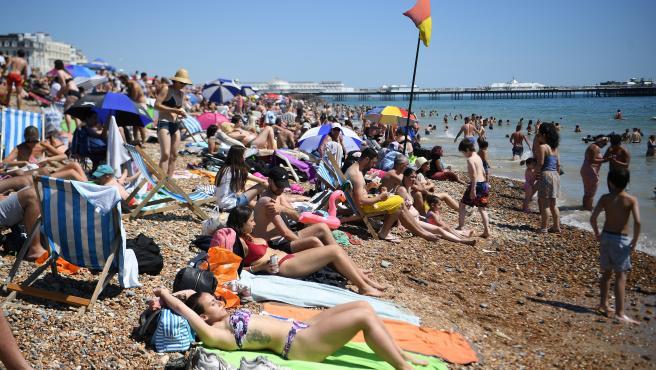 Una playa de Inglaterra