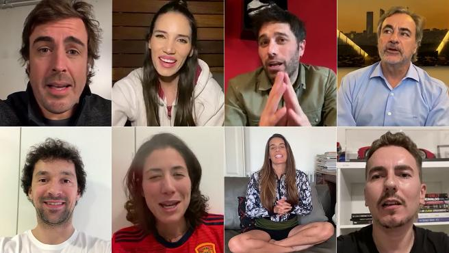 Alonso, India y Dani Martínez, Sainz, Llull, Muguruza, Ona Carbonell y Lorenzo recuerdan el Mundial de Sudáfrica