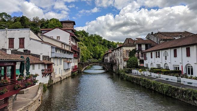 Saint-Jean-Pied-de-Port, Francia.