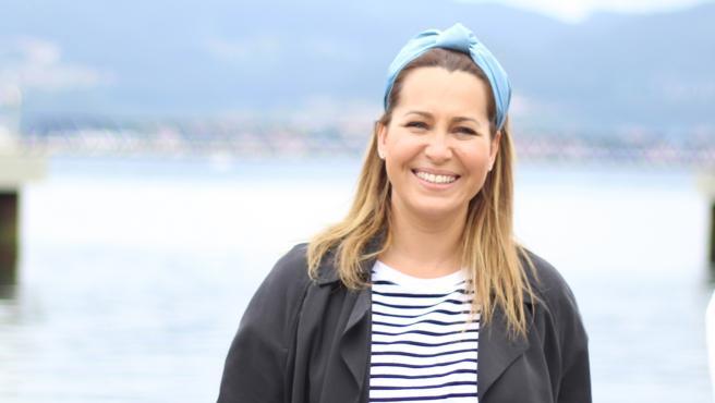 La candidata de Ciudadanos a la Presidencia de la Xunta, Beatriz Pino