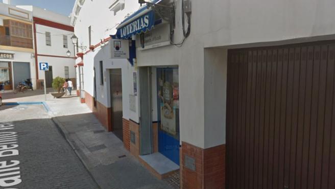 Administración de Loterías de Lebrija, Sevilla.