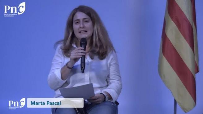 Marta Pascal, elegida secretaria general del nuevo PNC con el 91% de los votos