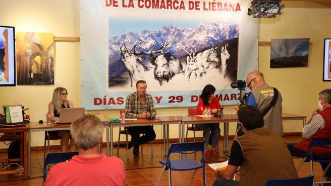 Consejero de Medio Rural asiste a la subasta de caza en Liébana. 27 JULIO 2020 © Oficina de comunicación