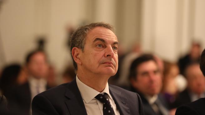 El expresidente del Gobierno José Luis Rodríguez Zapatero, en una foto de archivo.