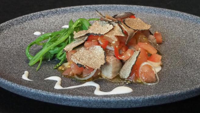 Ensalada de ventresca, uno de los nuevos platos de la temporada