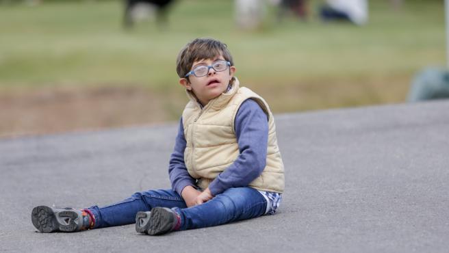 Imagen de archivo de Nacho, un niño con síndrome de Down.