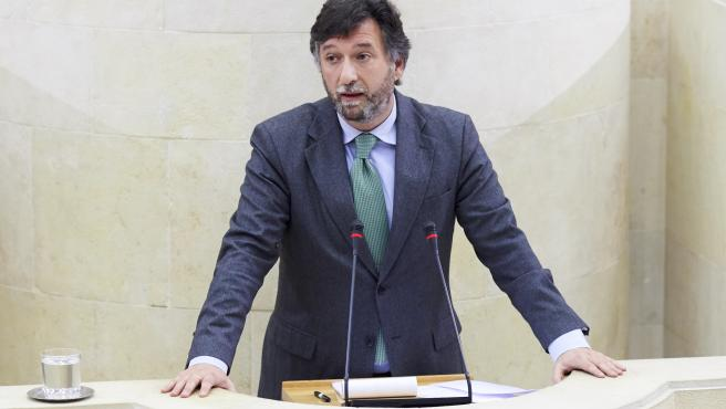 19/12/2019 SANTANDER Parlamento de Cantabria Cristobal Palacio FOTO: JUAN MANUEL SERRANO ARCE