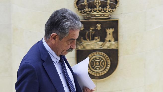 19/12/2019 SANTANDER Parlamento de Cantabria Partido Regionalista Miguel Angel Revilla FOTO: JUAN MANUEL SERRANO ARCE