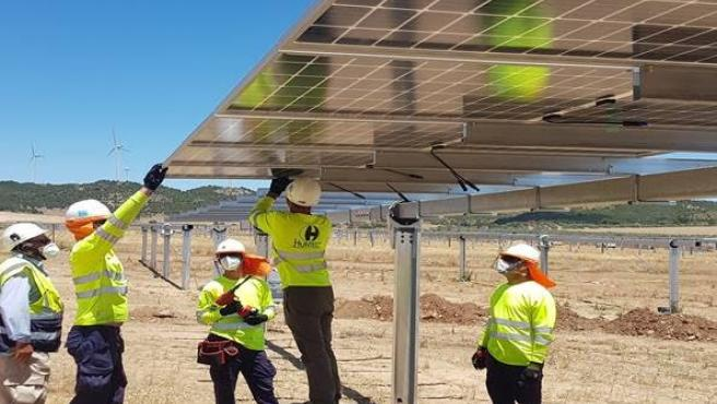 Desempleados de Málaga se forman en materia renovable