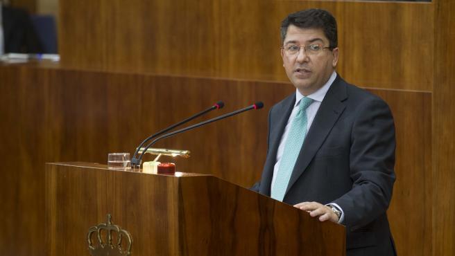 El diputado del PP en la Asamblea de Madrid, Pedro Muñoz Abrines, en una imagen de archivo.