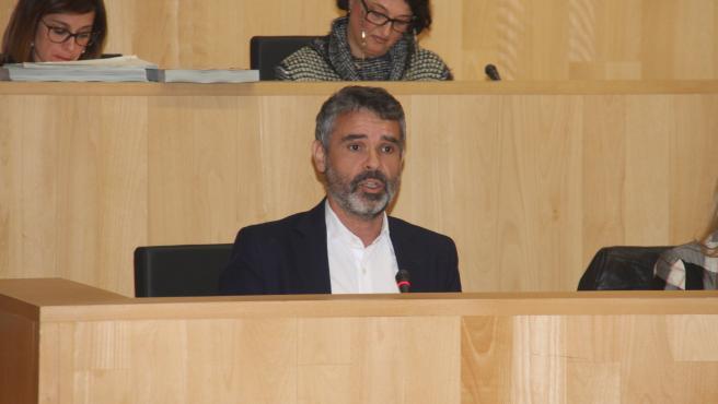 El portavoz socialista en la Diputación de Málaga, José Bernal, en una imagen de archivo