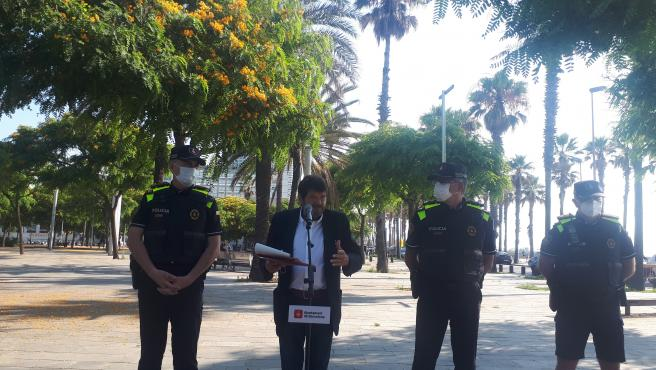 El teniente de alcalde de Seguridad de Barcelona, Albert Batlle El teniente de alcalde de Seguridad de Barcelona, Albert Batlle 29/6/2020