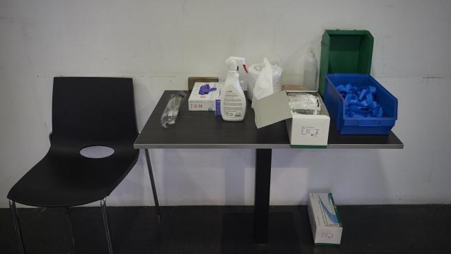 Instalaciones donde atienden a los pacientes que acuden para realizarse una extracción de muestras