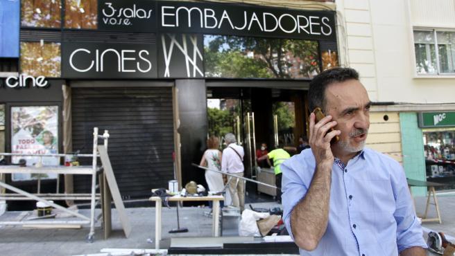 Miguel Ángel Pérez, dueño de la productora Surtsey Films.