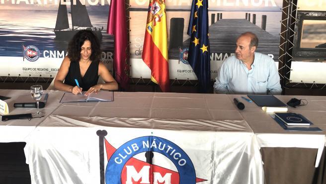 Nota + Sonido + Foto/ Turismo Activa Una Campaña Para Pr Omover La Práctica Segura De Deportes Náuticos En El M Ar Menor Entre Escolares De La Región