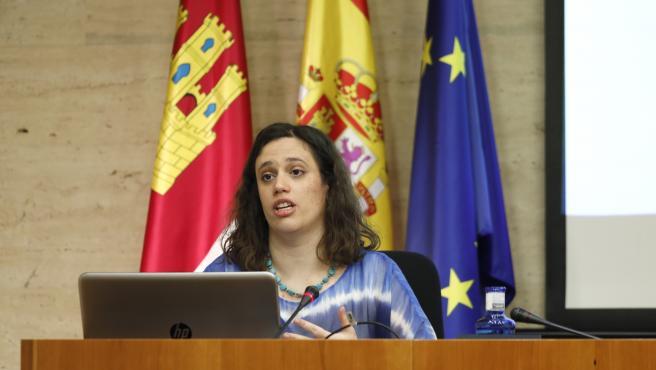 Comparecencia de la experta en demografía Pilar Burillo en las Cortes.