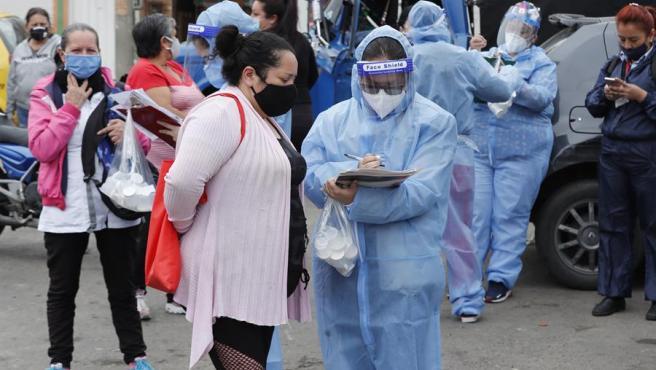 El coronavirus avanza sin freno en Colombia: 95.043 casos y 3.223 muertos