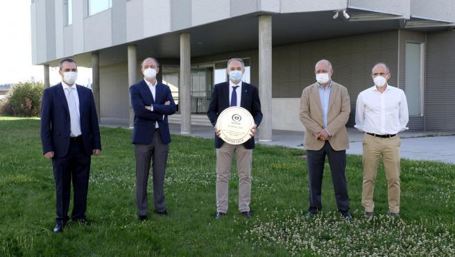 El EdficIo LUCIA de la UVA, primero del mundo en obtener el certificado WHOSIE contra el virus.