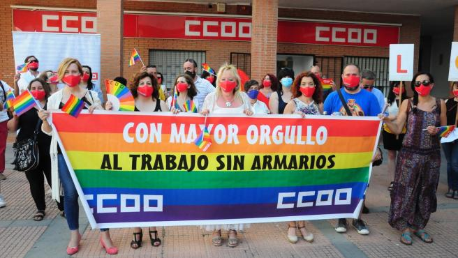 [Grupoextremadura] Ccoo De Extremadura Nota De Prensa Acto Ccoo De Extremadura Día Del Orgullo Lgtbi+
