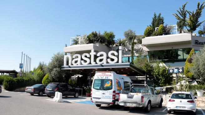 El Hotel Nastasi de Lleida, este lunes.